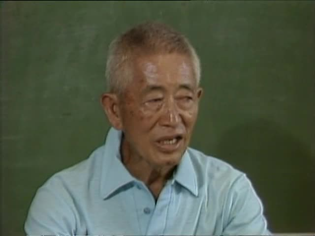 Interview with Coach Soichi Sakamoto; classroom tape 1 8/83