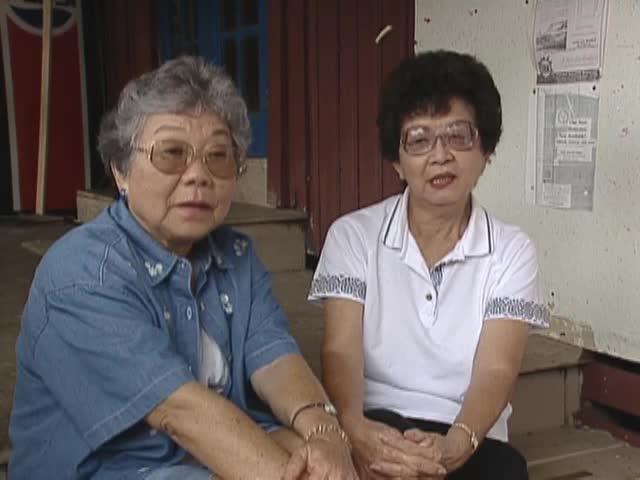 """Bingo Women and interview with Mitsue """"Butch"""" Thompson and Yaeko Shimabuku 4/24/96"""