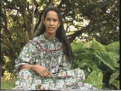 Tamara Wong-Morrison performs poetry