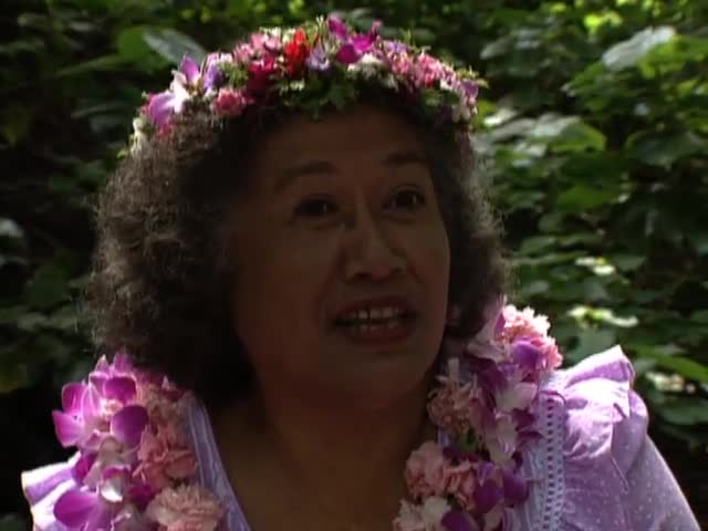 "Interview with Hawaiian language Professor Rubellite ""Ruby"" Johnson tape 4"