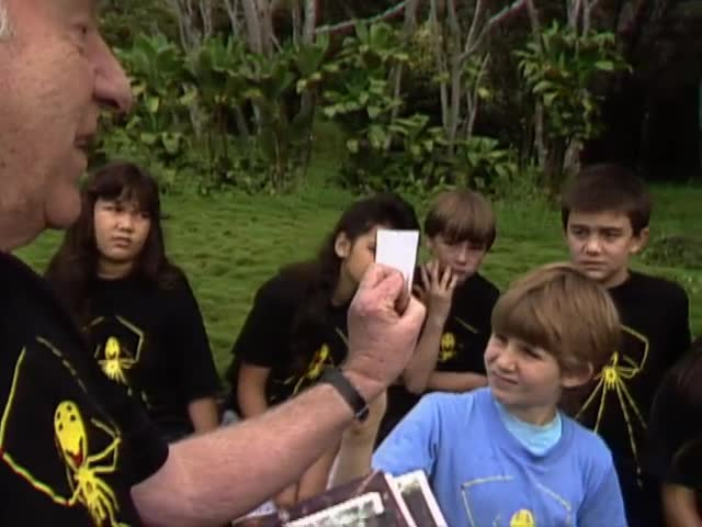 "The forest with William ""Bill"" Mull and students in Volcano and Kīlauea, Hawaiʻi"