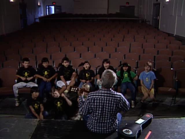 """Director Eddie Kamae and students sing """"Look At Me"""""""