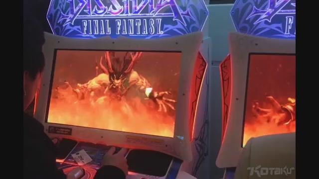 Hands On With The Dissidia: Final Fantasy Arcade Game   Kotaku ...