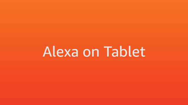 Amazon.com Help: Using Alexa on Your Fire Tablet