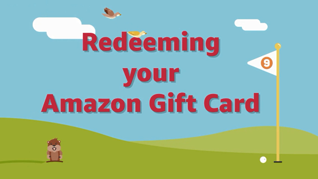Amazon.com Help: Redeem a Gift Card