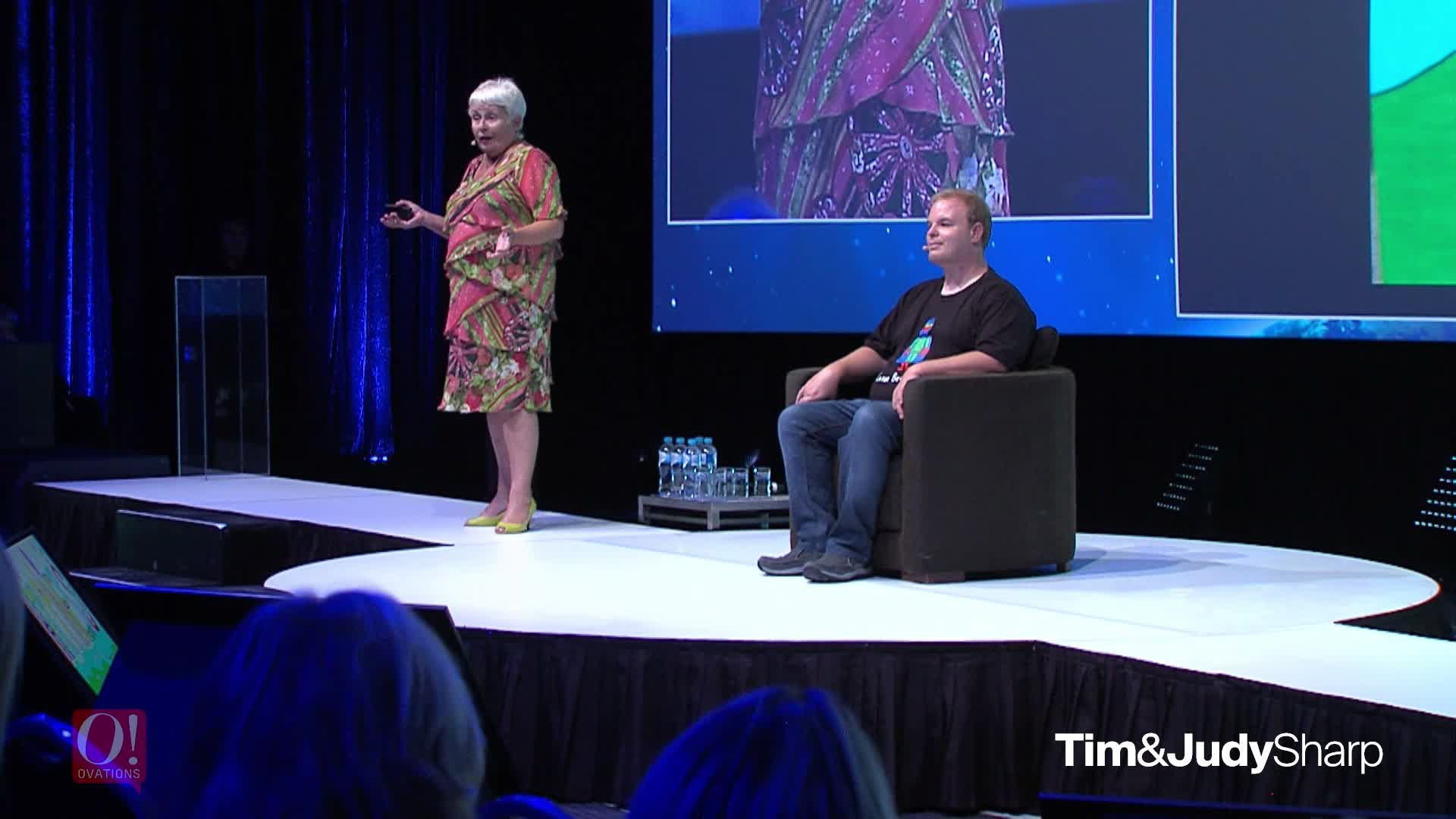 Judy & Tim Sharp - Showreel