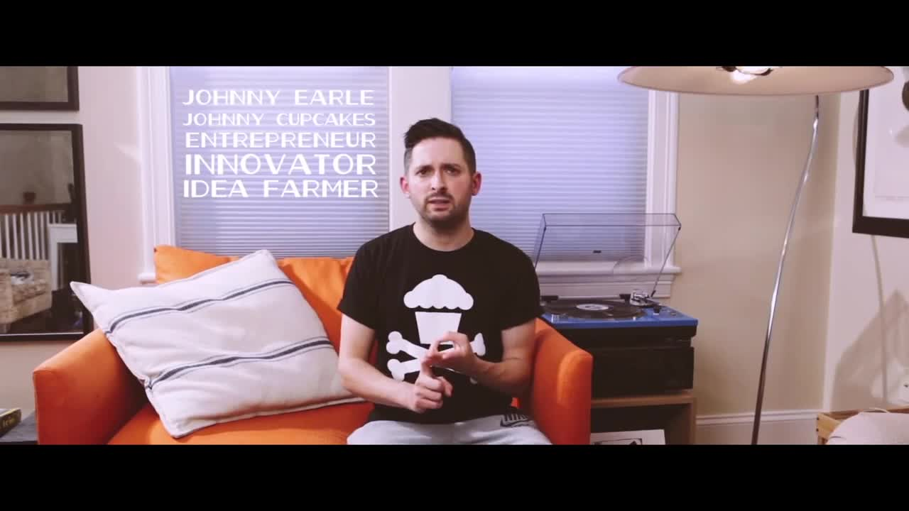 Video thumbnail for JOHNNY CUPCAKES: JOHNNY EARLE Lecture Series