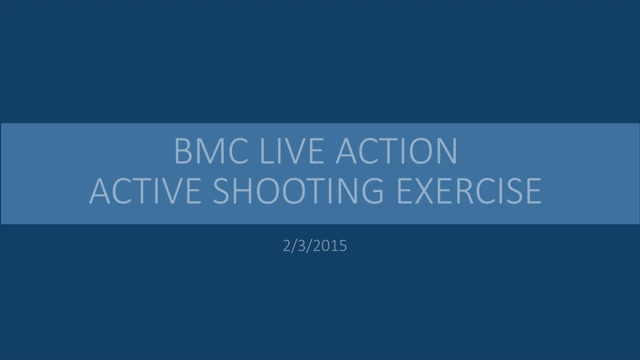 """BMC Live Action Active Shooting Exercise   February 3, 2015"""" - Videos ..."""